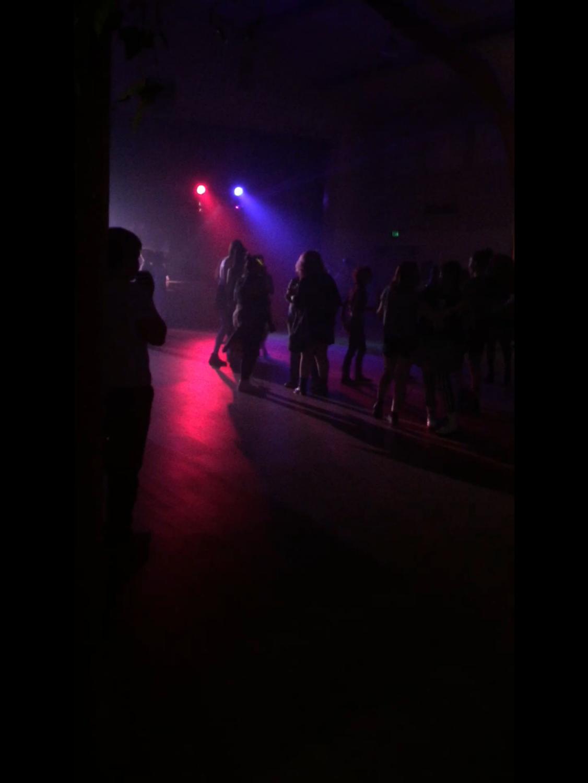 Stonewall Alliance put on the dance at First Christian Church Saturday night from 7-10 p.m. Photo credit: Josiah Nicholl