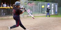 Wildcats softball team set a new single season wins record with sweep of Jacks