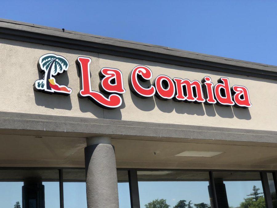 'La Comida' restaurant located in Mangrove Plaza. Photo credit: Alejandra Fraga
