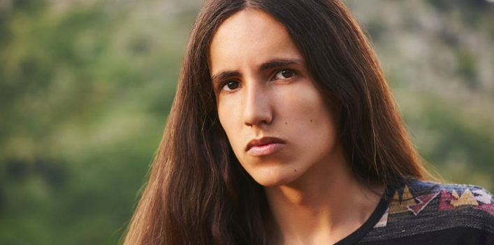 The Institute for Sustainable Development is proud to present Xiuhtezcatl Martinez, Indigenous climate activist, hip-hop artist, author, and Youth Director of Earth Guardians to Chico State for a student and community Earth Month event. Image courtesy of the Institute for Sustainable Development.