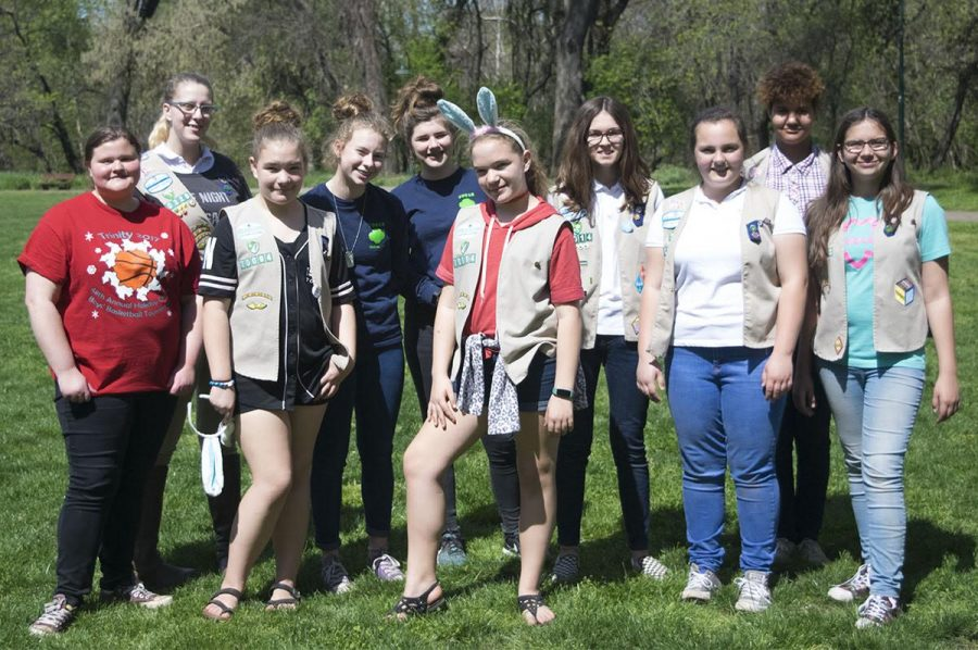 Girl Scouts from many different areas joined CARD in putting together the annual Spring Jamboree Egg Hunt on Saturday. Photo credit: Rachael Bayuk