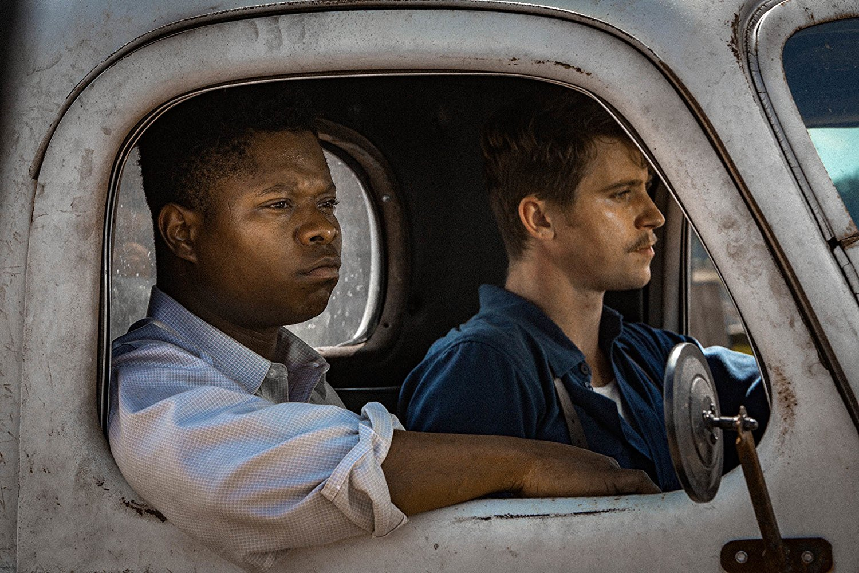 Jason Mitchell and Garrett Hedlund star as Ronsel Jackson and Jamie McAllan in