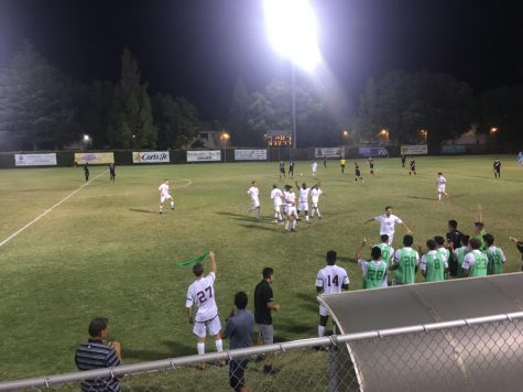 Men's soccer team falls at home