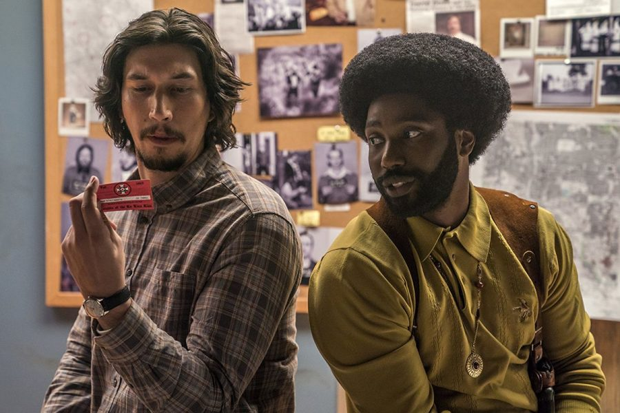 Adam Driver and John David Washington in