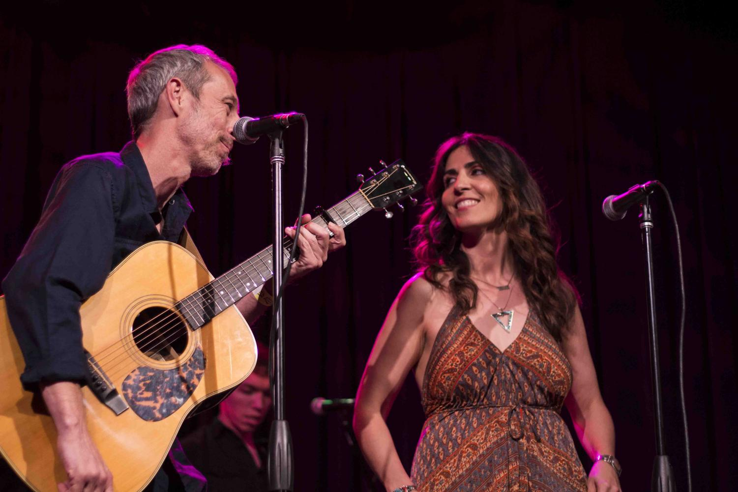 David+Elke+%28left%29+and+Lisa+Valentine+of+Sunday+Iris+perform+at+Small+Town+Big+Sound+Thursday+evening+at+Sierra+Nevada+Brewing+Co.%27s+Big+Room.+Photo+credit%3A+Brian+Luong