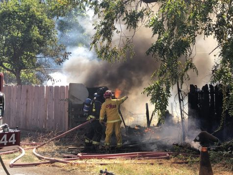 Fire in Chapmantown destroys two sheds, no injuries