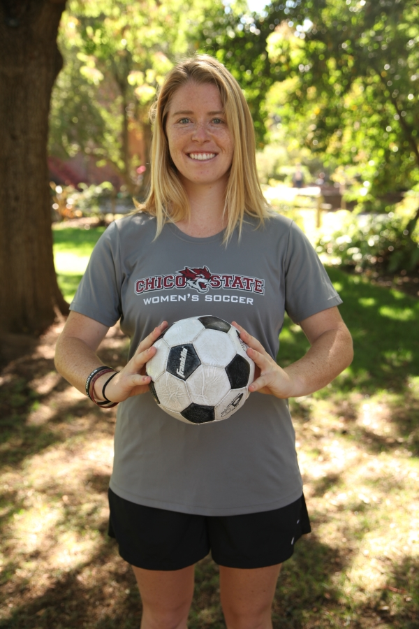 Senior Erin Woods has returned to the Chico State women's soccer team for her extra year of eligibility.