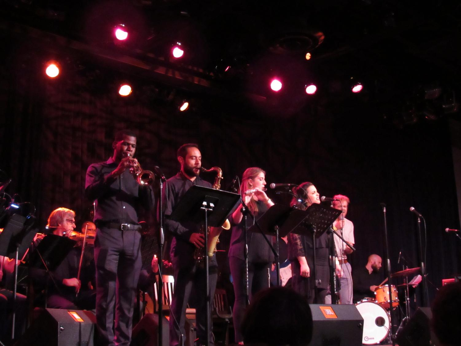 A+variety+of+musicians+helped+back+up+each+individual+song+throughout+the+show.+Photo+credit%3A+Natalie+Hanson