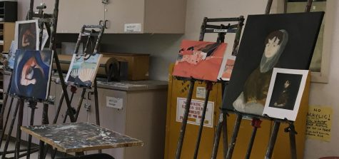 Painting class offers students a rewarding creative outlet