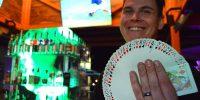 Dean Waters brings magic to Chico's bar scene