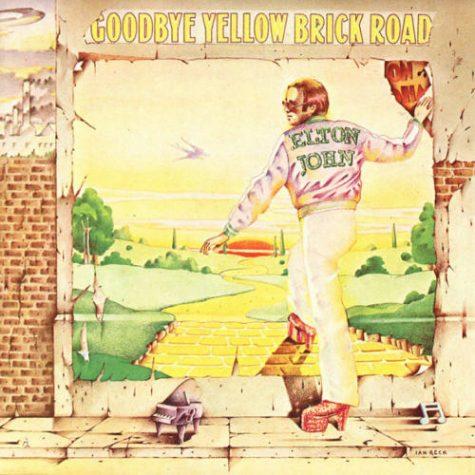 The cover artwork of Elton John's seventh album,