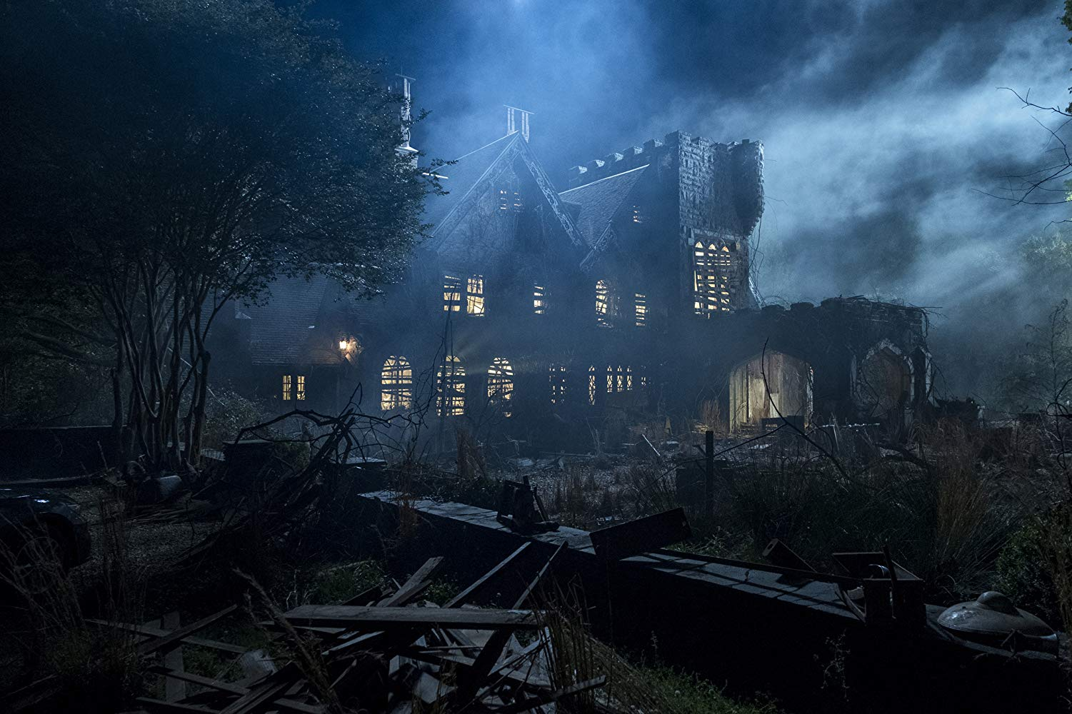 More of a manor than a house, but you get the idea. Image from IMDB.
