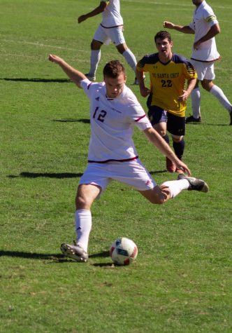 Men's soccer jumps out early in Sunday Victory