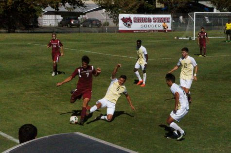 Men's soccer sweeps home stand