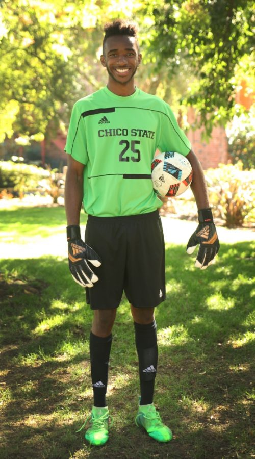 Chico+State+goalkeeper+Damion+Lewis+has+started+every+game+this+season+for+the+Wildcats.+Photo+credit%3A+Maury+Montalvo