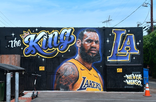 Lebron James makes his first appearance as a Laker and looks to lead the young team to a championship.