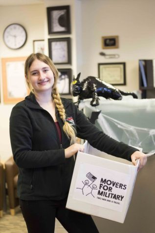 Chico State student leads Movers for Military campaign