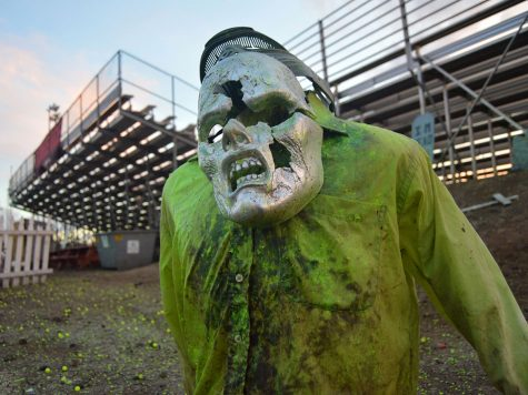 Zombies invade the Silver Dollar Fairgrounds