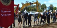 New science building breaks ground