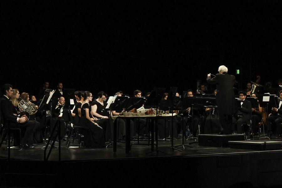 Students+preform+in+the+Laxson+Auditorium+on+Saturday.+Photo+credit%3A+Tara+Killoran
