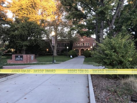 Shots fired at frat party, two arrested