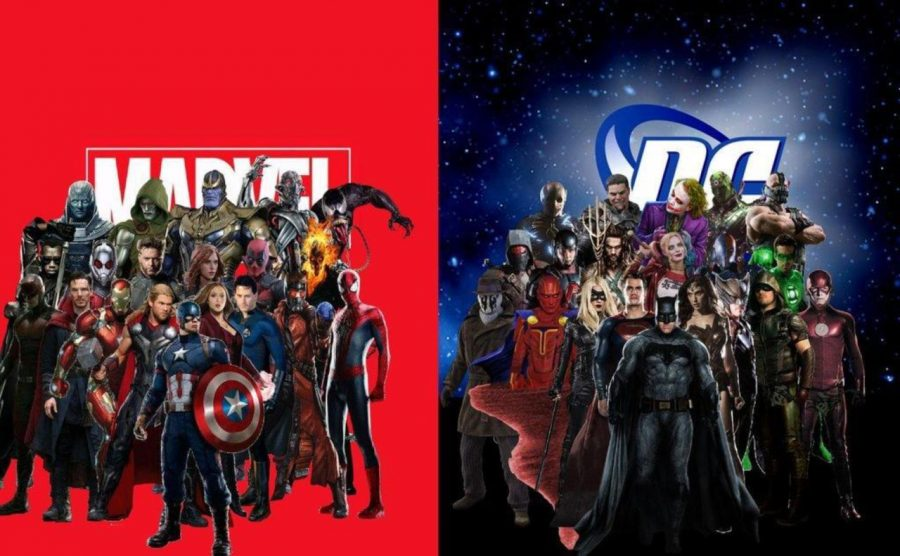 The+two+leading+comic+book+creators%2C+DC+and+Marvel%2C+have+created+some+of+the+most+beloved+characters+in+popular+culture.+Images+from+Wikipedia.