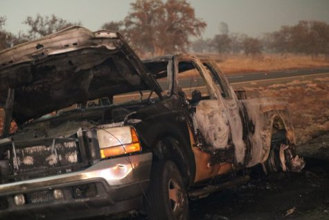 Cause of fire on Highway 32 still unknown