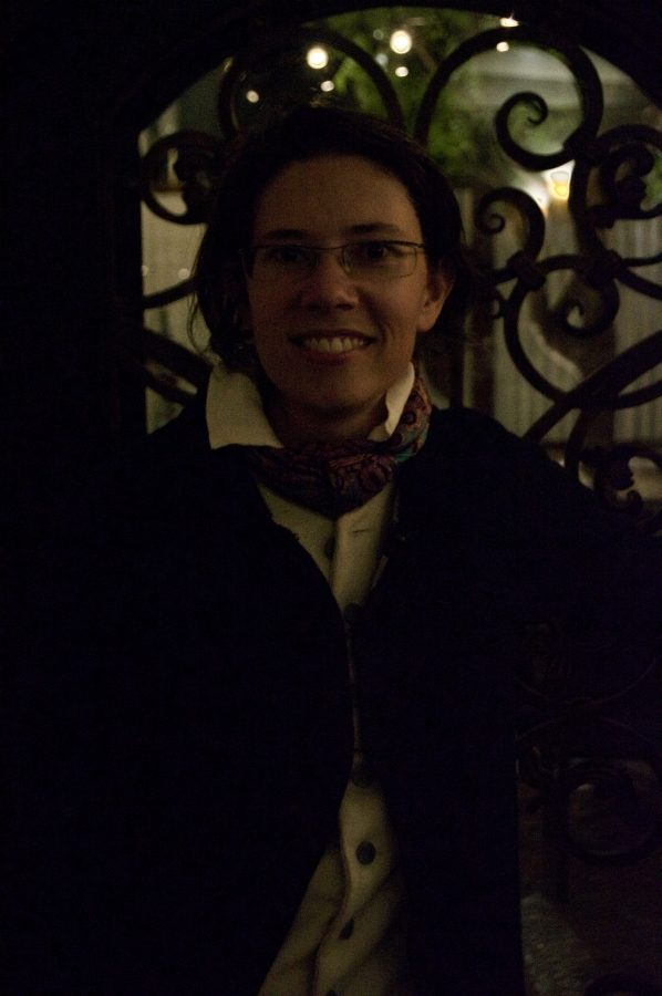 Cellist Elizabeth Quiavey played at Wine Time.