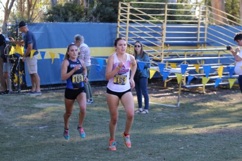 Women's cross-country team headed for CCAA championship