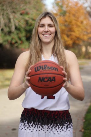 McKena Barker is a senior, leader, rebounding specialist and this week's Wildcat of the Week. Photo credit: Caitlyn Young