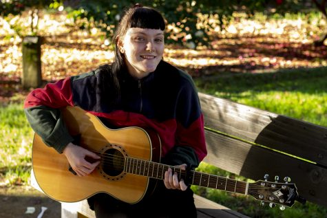 Student carves out niche as local folk, blues musician
