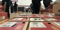 Vans gives away shoes to Camp Fire victims at Chico High School