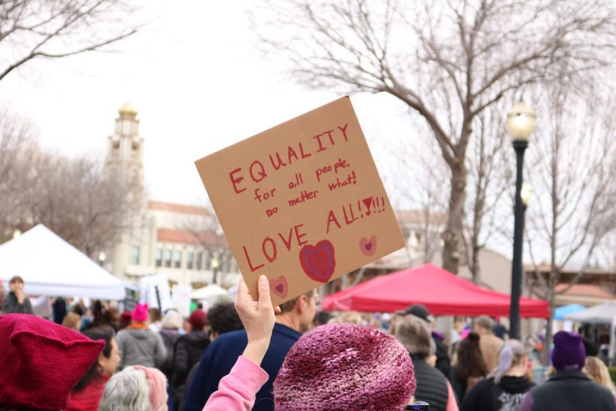 %22Equality+for+all+people%2C+no+matter+what.+Love+all.%22The+sign+was+held+by+a+protester+at+the+Chico+Women%27s+March+Saturday+morning.+Photo+credit%3A+Christian+Solis
