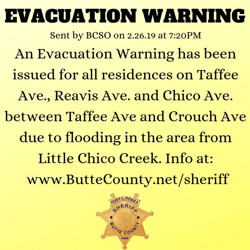 Consistent rainfall causes a string of evacuations