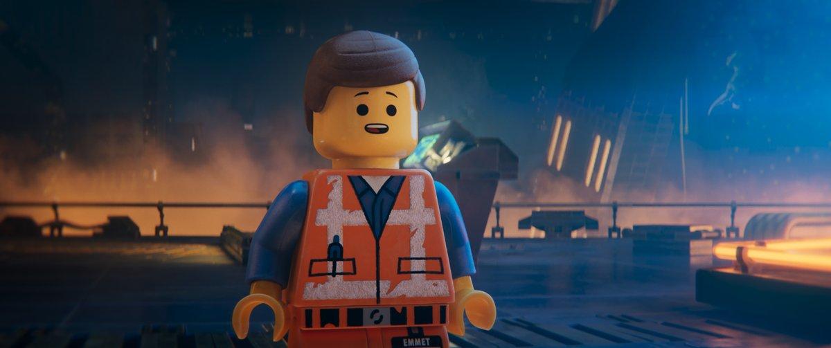 Emmet Birckowski, voiced by Chris Pratt, in