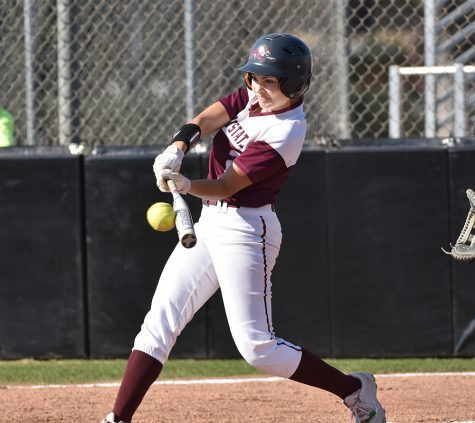 Ari Marsh went 4-2 with an RBI in Tuesdays game against Humboldt State Photo credit: Janna Weiss