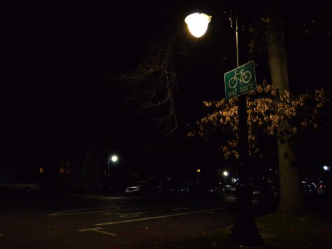 Chico's street lights (or lack thereof)