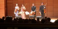 Minetti Quartett plays 'the zest for life' during Chico visit