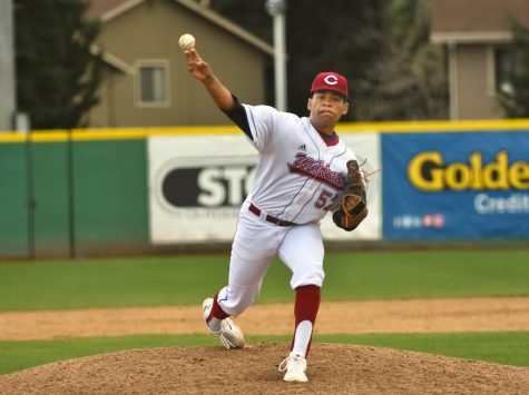 Sid Lacy came into the eighth inning in game one of Saturday's doubleheader and pitched 2/3 of scoreless baseball. He allowed one hit, a walk and zero runs to score.  Image courtesy: Sports Information