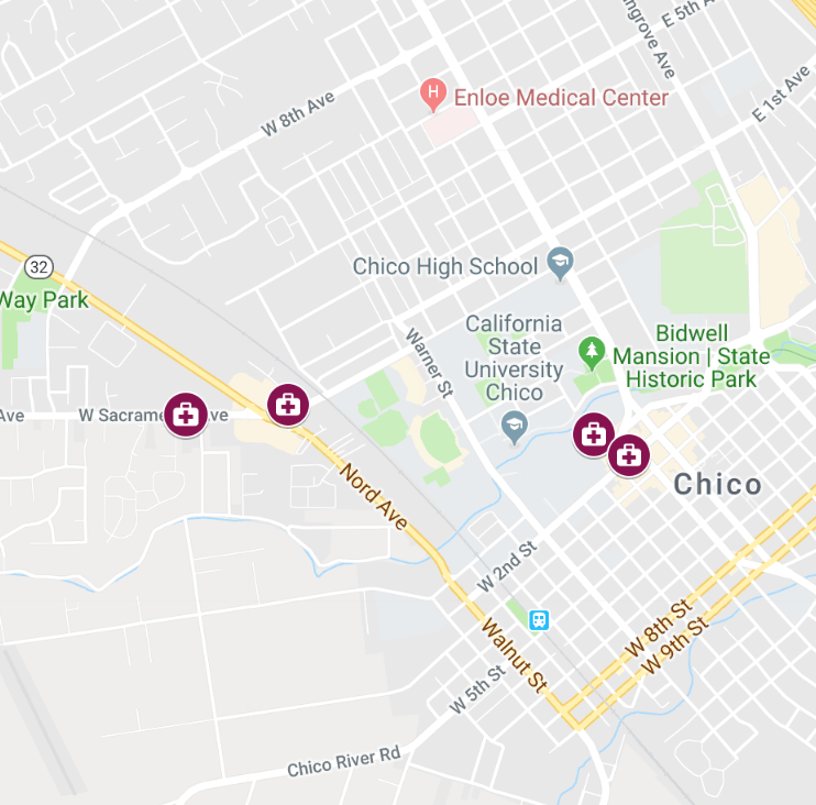 Possible measles exposure locations on Chico State campus ... on leptospirosis map state, allergy map state, lyme disease map state, mrsa map state, obesity map state, autism map state,