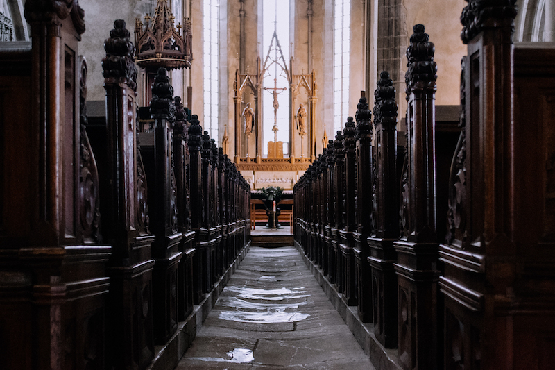 The+interior+of+a+Catholic+church.+Image+from+StockSnap.