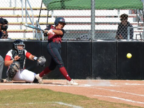 Softball finishes strong against East Bay; Ari Marsh becomes hits leader