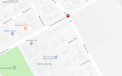 Two pedestrians robbed and beaten at gunpoint adjacent to campus