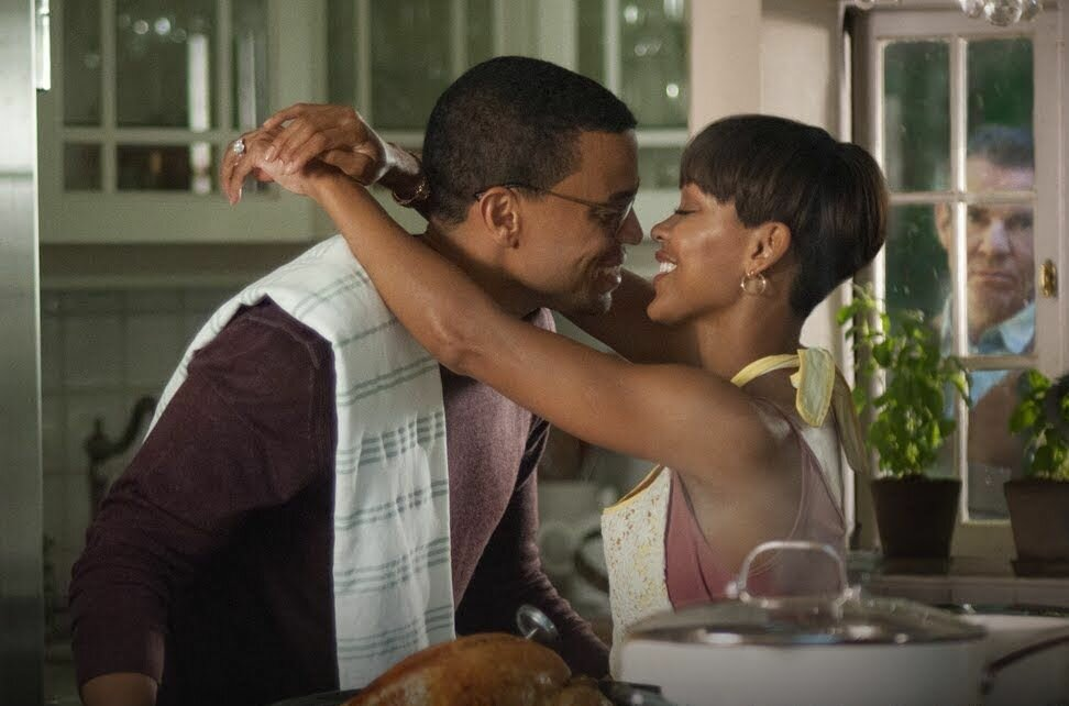 Michael Ealy and Meagan Good play a young couple who are being stalked by the house's previous homeowner. IMDb website photo