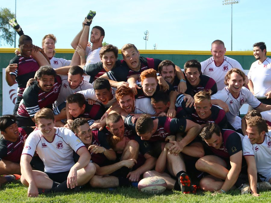 Team chemistry and bonds formed through countless games together made the Chico men's rugby team the brothers they are now. Photo credit: Olyvia Simpson