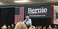 Bernie Sanders visits Chico, Paradise