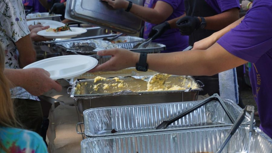 All the food served the Sunday Brunch was catered and donated by Leon Bistro. Photo credit: Angel Ortega