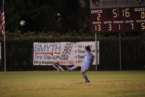 Chico State's Goal Keeper