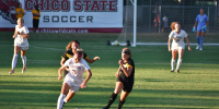 Women's soccer holds up the win in first home game