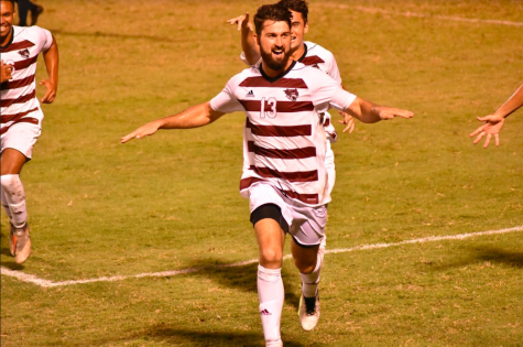 Men's Soccer dazzles in home opener